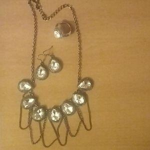 Park Lane necklace,  earrings & ring set